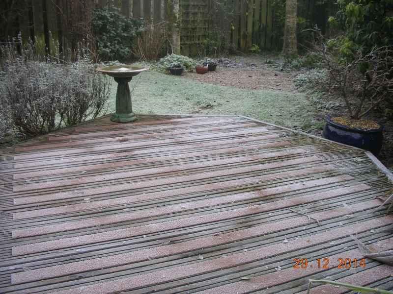 Frosty Non Slip Decking Strips