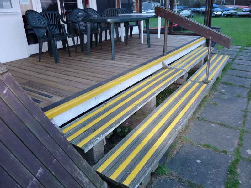 High Visibility Decking Strips and Nosing