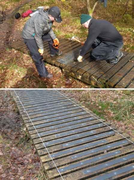 Chicken Wire Replacement GRP Decking Strips