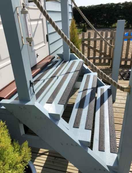 Non Slip Step Stair Strip on Shepards Hut Stairs