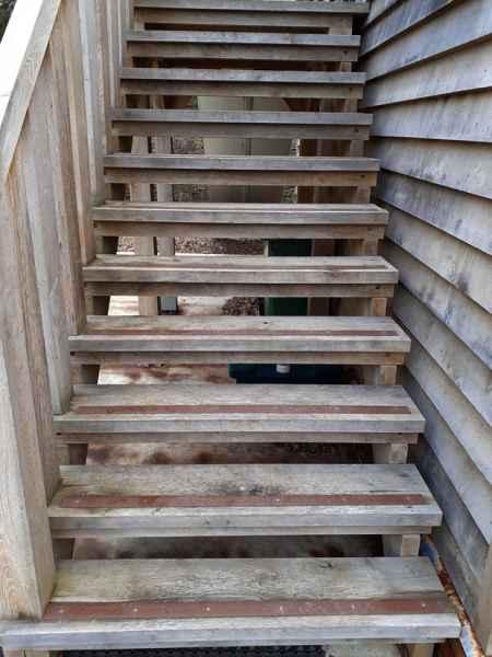 50mm Brown decking step stair strips