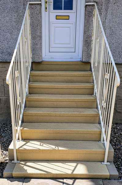 Robert T - Anti Slip Stair Treads Risers Buff