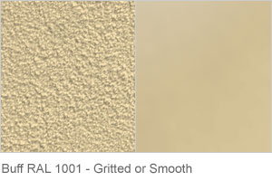 Buff RAL 1001 - Gritted or Smooth finish
