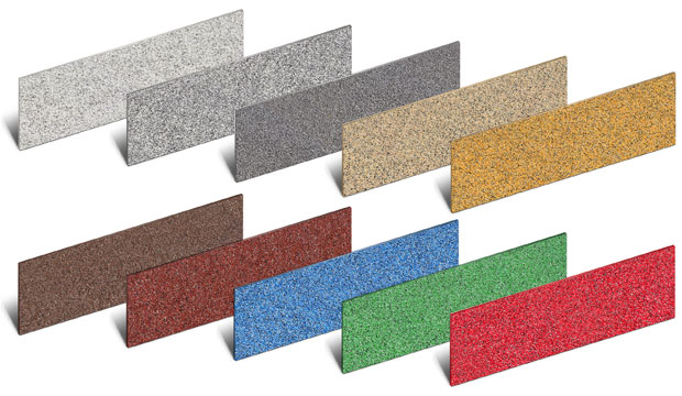 Stair Riser Plates Colourdec range by Safe Tread.