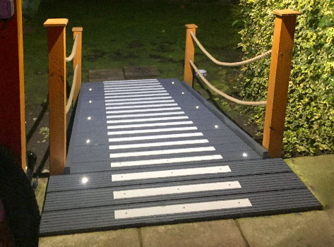 Anti Slip Decking Strips Medium Grit 50mm Non Slip