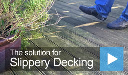 Video: The solution for Slippery Decking