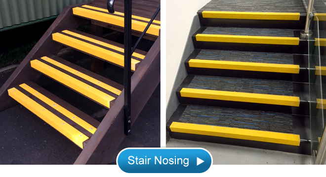 Anti Slip Stair Nosing For Safer Steps, Stairs And Walkways.