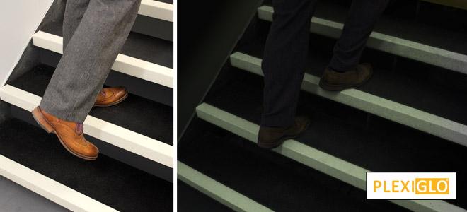 Glow In The Dark, Anti Slip Stair Nosings, Stair Safety.