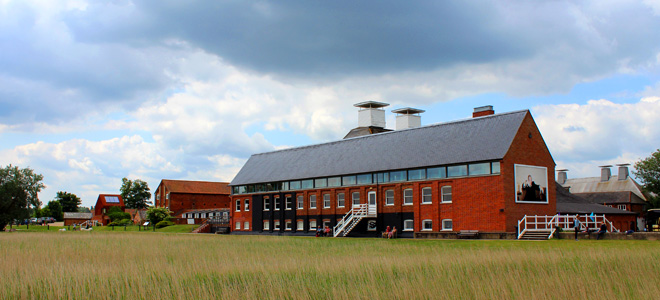 The world-renowned Snape Maltings Concert Hall.