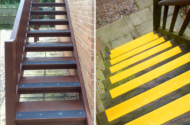 With the widest range of colours to choose from, match or compliment surroundings or use bright colours to highlight step edges.