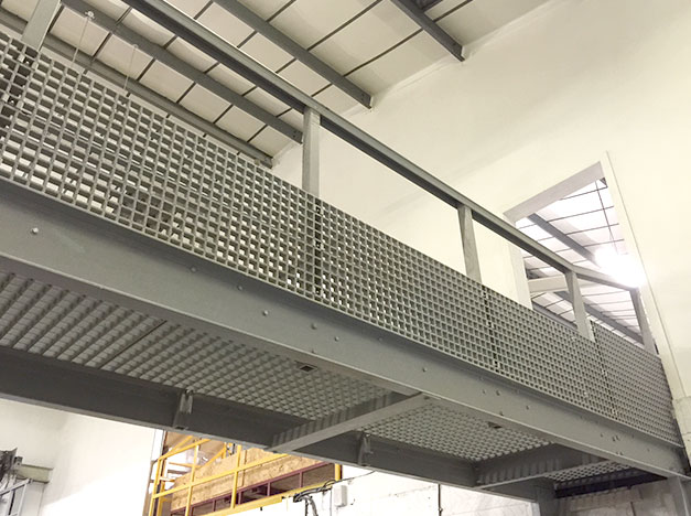 Proven reliability in high traffic areas, GRP Grating gives excellent slip resistance.