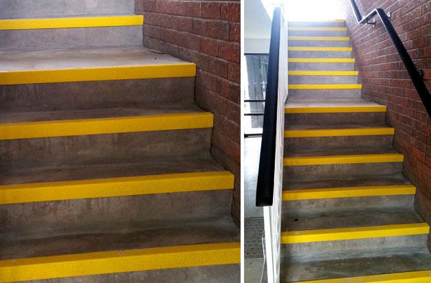 Stair Tread Ideas Non Slip