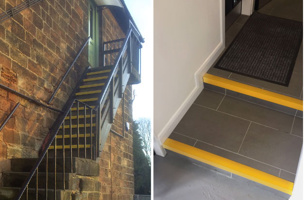 Anti Slip Stair Nosings Customer Installations Gallery 3