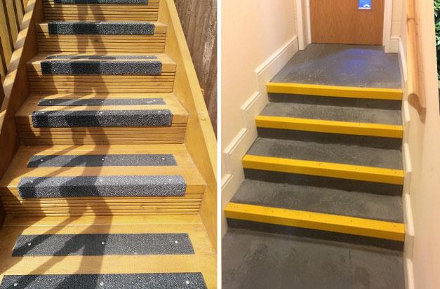 Anti Slip Stair Nosings Non Slip Steps Gallery 1