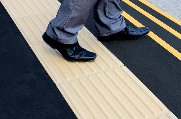 01 tactile paving plates for visually impared safe tread